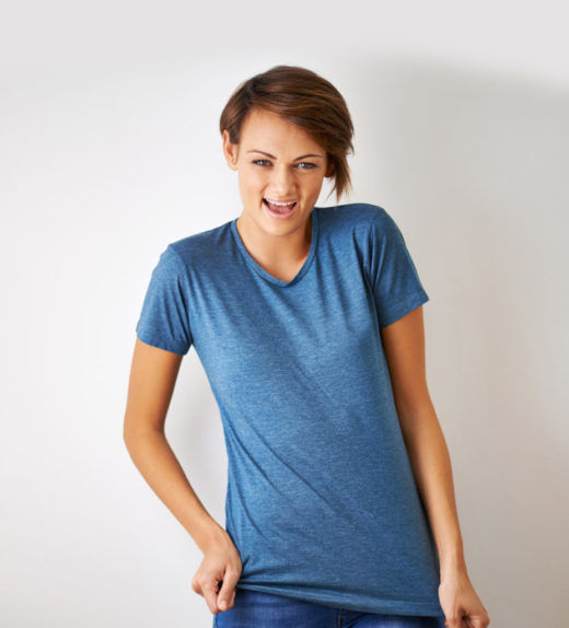 Casual Blue T-Shirt